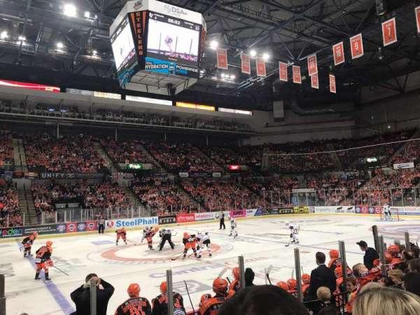 FlyDSA Arena, secção: 107, fila: H, lugar: 7