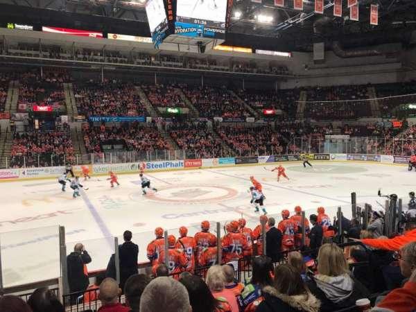 FlyDSA Arena, secção: 103, fila: L, lugar: 10