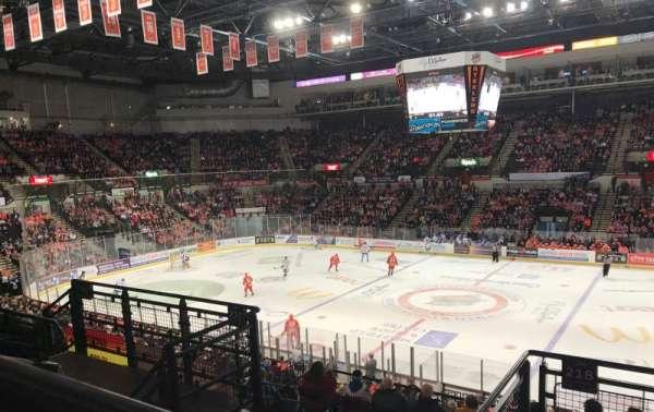 FlyDSA Arena, secção: 218, fila: F, lugar: 13