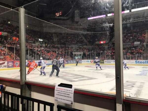 Sheffield Arena, secção: 116, fila: B, lugar: 1