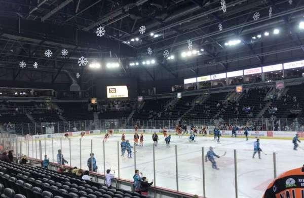 SSE Arena Belfast, secção: East L 8, fila: K, lugar: 153