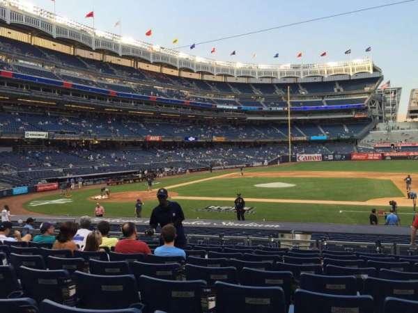 Yankee Stadium, secção: 116, fila: 20, lugar: 8