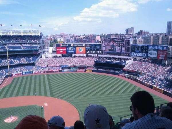 Yankee Stadium, secção: 416, fila: 10, lugar: 10
