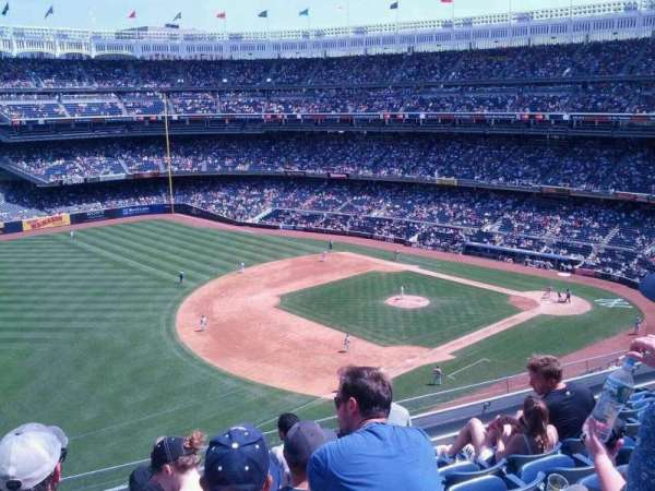Yankee Stadium, secção: 328, fila: 7, lugar: 24