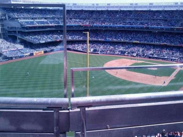 Yankee Stadium, secção: 432a, fila: 1, lugar: 18