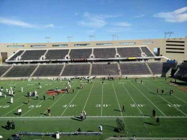 Princeton Stadium, secção: 5, fila: 22, lugar: 1