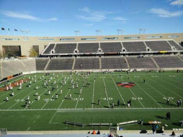 Princeton Stadium, secção: 8, fila: 28, lugar: 5