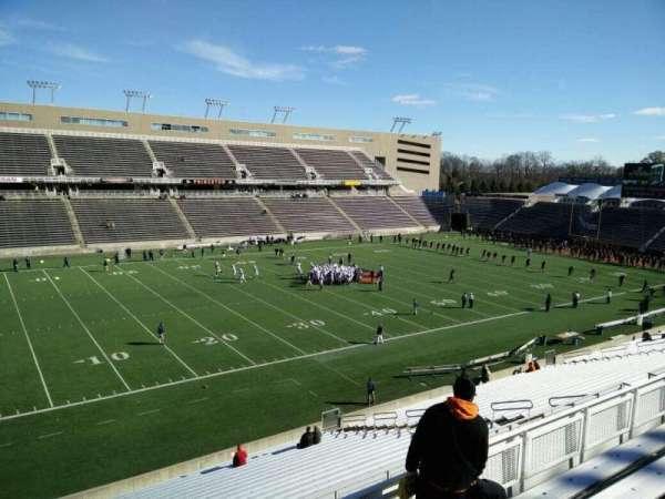 Princeton Stadium, secção: 21, fila: 26, lugar: 13