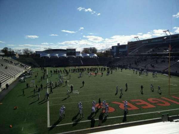 Princeton Stadium, secção: 19, lugar: 11
