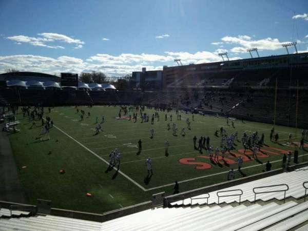 Princeton Stadium, secção: 20, lugar: 15