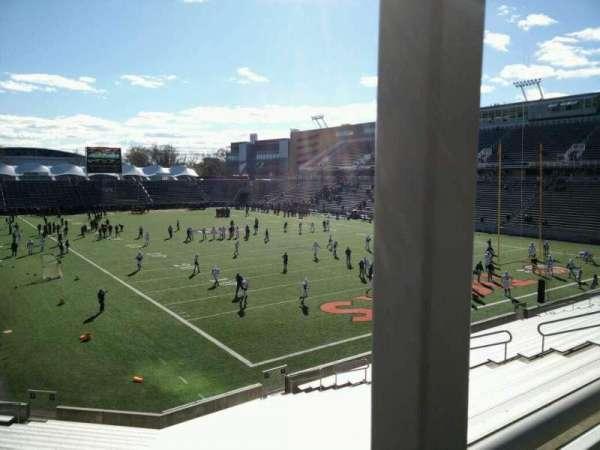 Princeton Stadium, secção: 20, lugar: 14