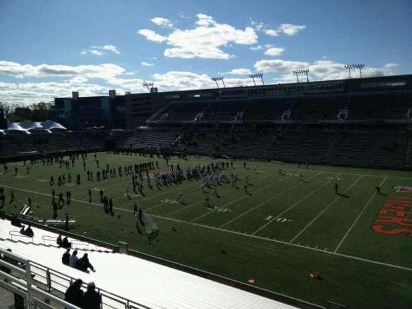 Princeton Stadium, secção: 21, fila: 24, lugar: 12