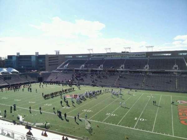 Princeton Stadium, secção: 22, fila: 31, lugar: 8