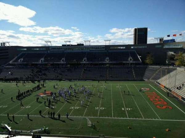 Princeton Stadium, secção: 23, fila: 36, lugar: 18