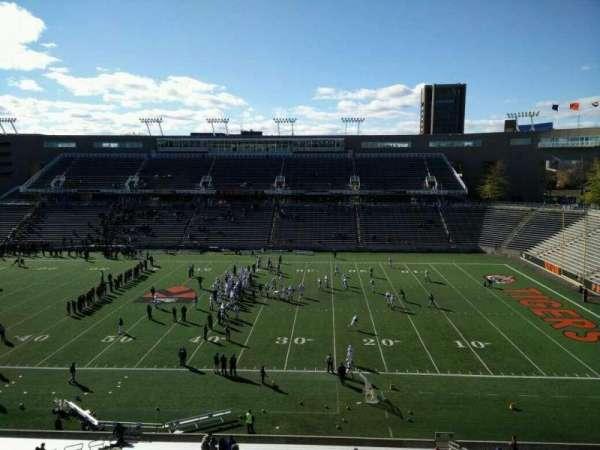 Princeton Stadium, secção: 24, fila: 33, lugar: 15