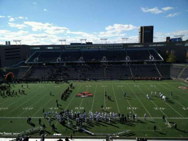 Princeton Stadium, secção: 26, fila: 36, lugar: 1
