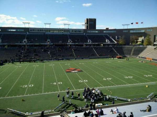 Princeton Stadium, secção: 28, fila: 25, lugar: 5