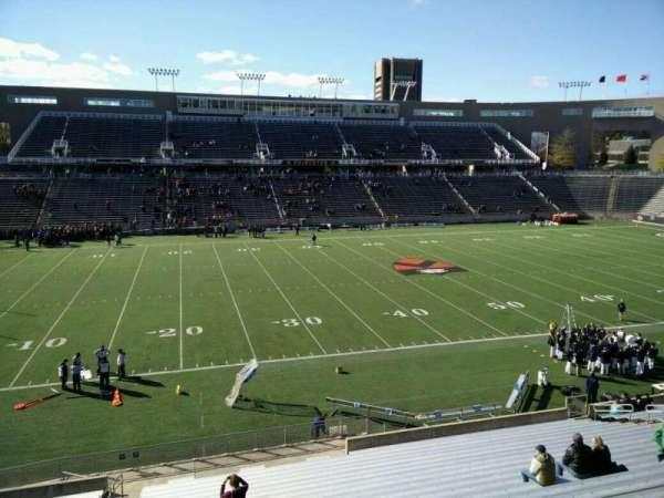 Princeton Stadium, secção: 29, fila: 22, lugar: 17