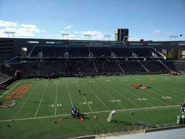 Princeton Stadium, secção: 30, fila: 26, lugar: 13