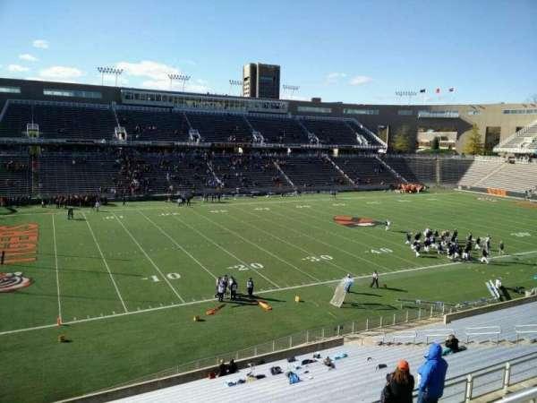 Princeton Stadium, secção: 31, fila: 24, lugar: 16