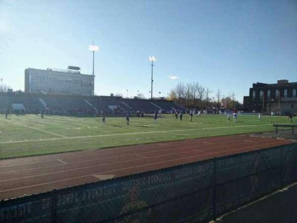 Villanova Stadium, secção: NF, fila: 1, lugar: 18