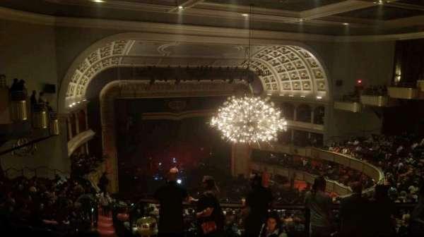 The Met Philadelphia, secção: mezzanine 5, fila: B, lugar: 1