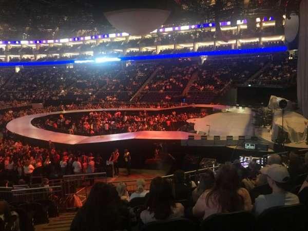 The O2 Arena, secção: 113, fila: S, lugar: 407