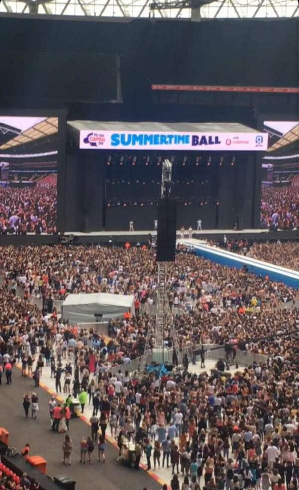 Wembley Stadium, secção: 219, fila: 16, lugar: 122