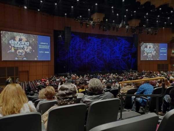 The Theater at MGM National Harbor, secção: 105, fila: N, lugar: 3