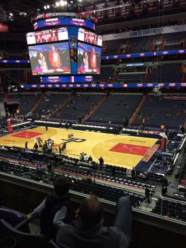 Capital One Arena, secção: 202, fila: C, lugar: 11