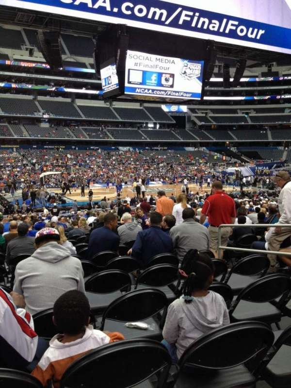 AT&T Stadium, secção: C138, fila: MM, lugar: 6