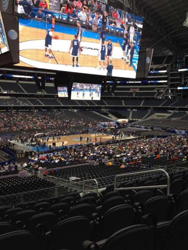 AT&T Stadium, secção: C214, fila: 9, lugar: 6