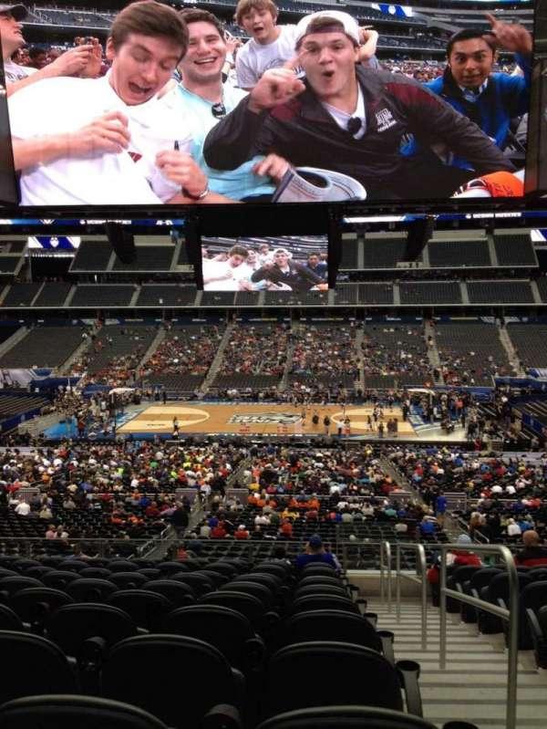 AT&T Stadium, secção: C210, fila: 12, lugar: 9
