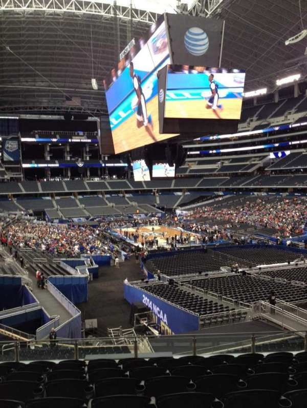 AT&T Stadium, secção: 202, fila: 11, lugar: 10