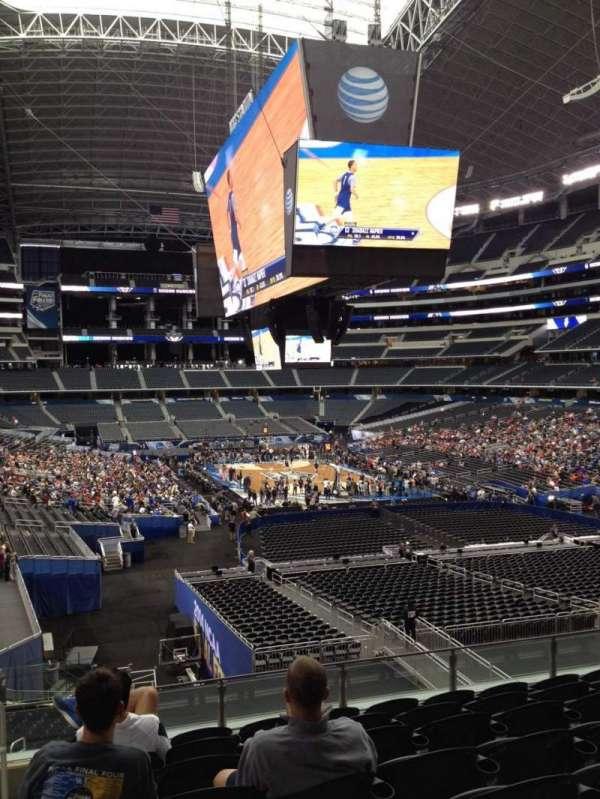AT&T Stadium, secção: 201, fila: 9, lugar: 10
