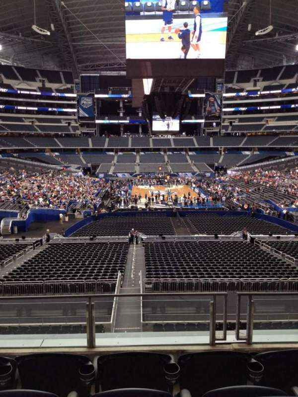 AT&T Stadium, secção: 249, fila: 6, lugar: 7