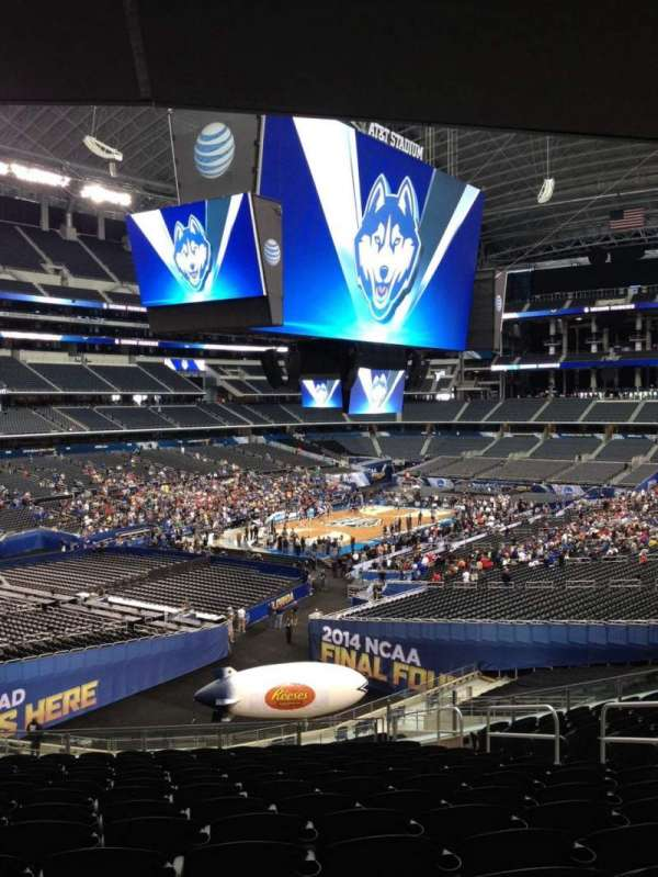 AT&T Stadium, secção: 244, fila: 11, lugar: 2