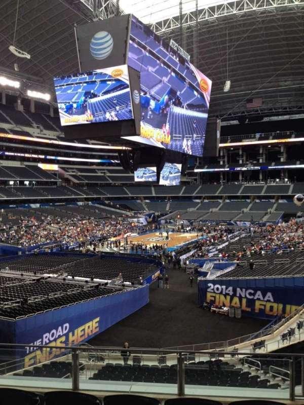 AT&T Stadium, secção: 242, fila: 15, lugar: 24