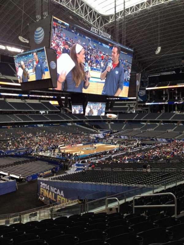 AT&T Stadium, secção: 240, fila: 14, lugar: 8