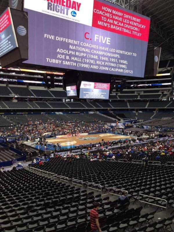 AT&T Stadium, secção: C238, fila: 3, lugar: 3