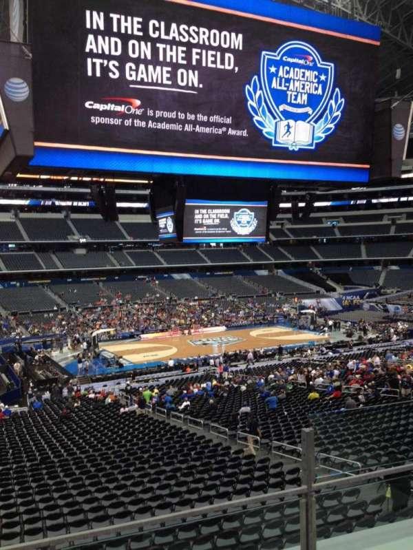 AT&T Stadium, secção: C237, fila: 4, lugar: 7