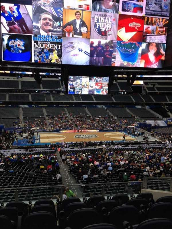 AT&T Stadium, secção: C235, fila: 9, lugar: 39