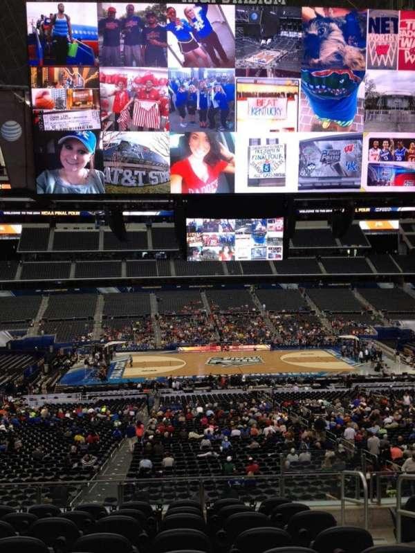 AT&T Stadium, secção: C233, fila: 8, lugar: 11