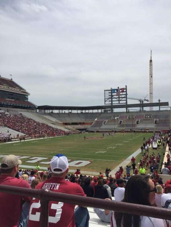 Gaylord Memorial Stadium, secção: 16, fila: 29, lugar: 2