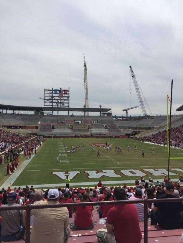 Gaylord Memorial Stadium, secção: 19, fila: 32, lugar: 30