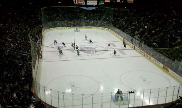 Nationwide Arena, secção: 225, fila: C, lugar: 8