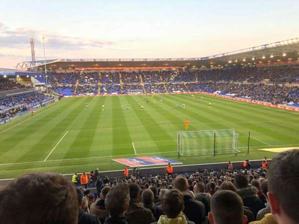 St Andrew's Stadium, secção: GML5, fila: 31, lugar: 126