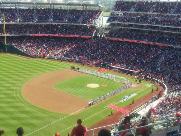 Nationals Park, secção: 403, fila: k, lugar: 10