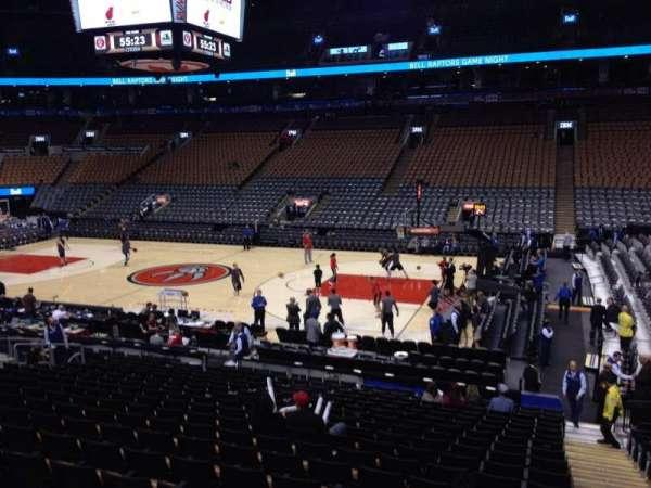 Scotiabank Arena, secção: 117, fila: 20, lugar: 1