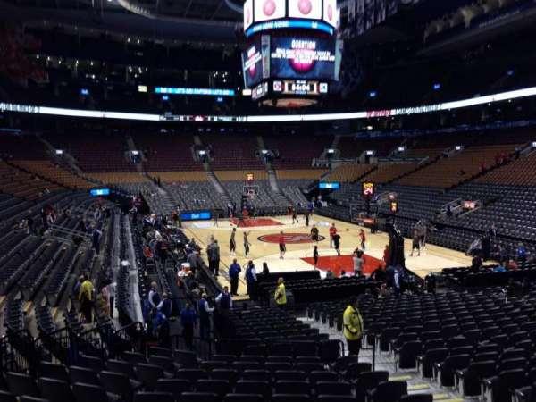 Scotiabank Arena, secção: 115, fila: 20, lugar: 9